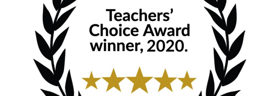 Teachers' Choice Award, 2020