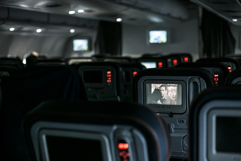 The best seats on an aeroplane.